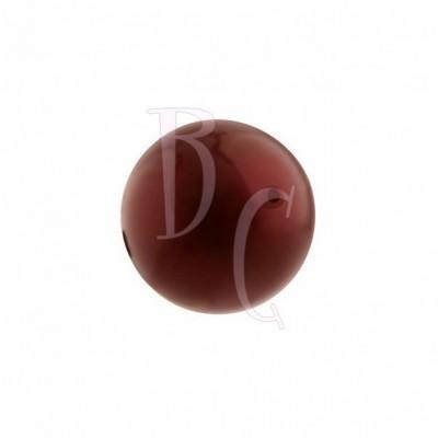 Perla swarovski 5810 12MM Bordeaux