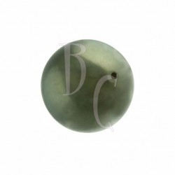 Perla swarovski 5810 14MM Dark Green