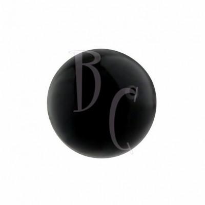 Perla swarovski 5810 14MM Mystic Black