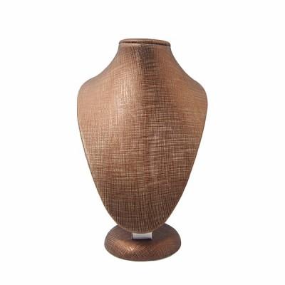 Espositore per collane effetto legno