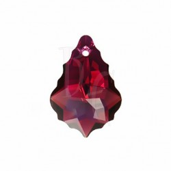 Pendant Baroque 6090 22x15 MM Ruby Ab
