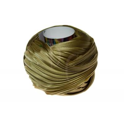 Seta Shibori color Solid Gold x15cm