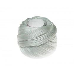 Seta Shibori color Solid white x15cm