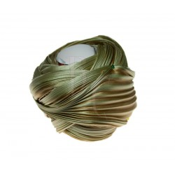 Seta Shibori color Two Tone Gold x15cm