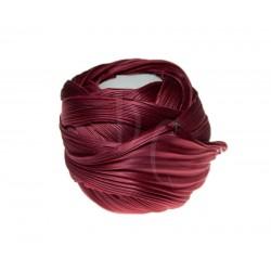 Seta Shibori color Holiday red x15cm