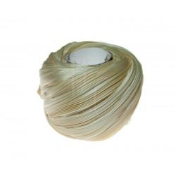 Seta Shibori color Ivory x15cm