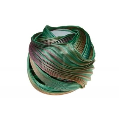 Seta Shibori color Seafoam borealis x15cm