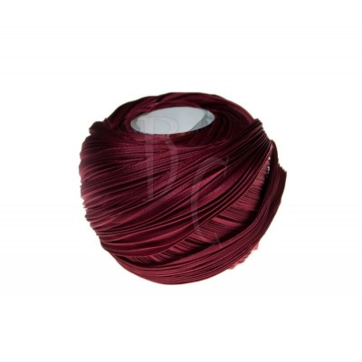 Seta Shibori color Deep solid red x15cm