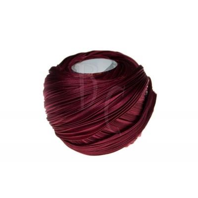 Seta Shibori color Deep solid red x15cm