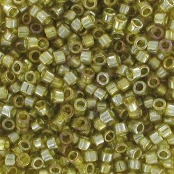 DB0124 - Transparent Golden Olive Luster 50 gr