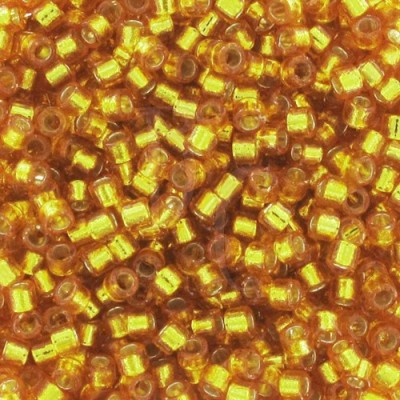 DB2157 - Silver Lined Dyed Yellow Gold 50 gr