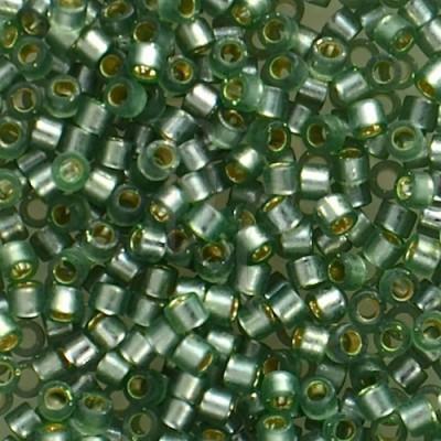 DB0689 - Semi Matt S/L Lt.Grey Dyed Green 50 gr