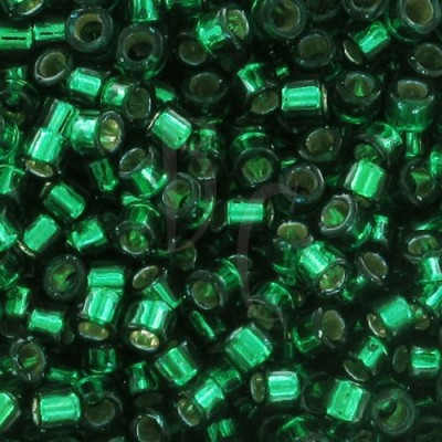 DB0605 - Dyed Silver Lined Emerald 50 gr