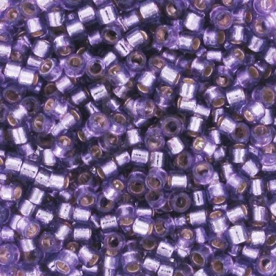 DB2168 - Silver Lined Dyed Lilac 50 gr