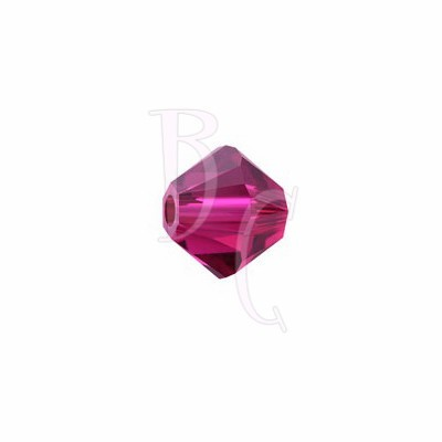 Bicono swarovski 5328 4MM Ruby