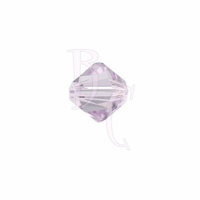 Bicono swarovski 5328 6 MM Light Amethyst