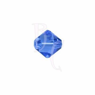Bicono swarovski 5328 6 MM Sapphire
