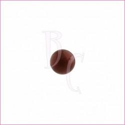Perla swarovski 5810 10 MM Crystal Pearl Maroon