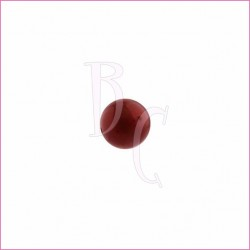 Perla swarovski 5810 10 MM Bordeaux