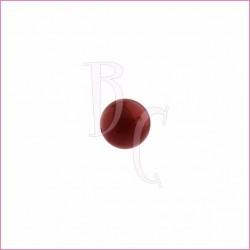 Perla swarovski 5810 10MM Bordeaux