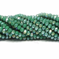 Cipollotti 3x4 mm Opaque Green Ab