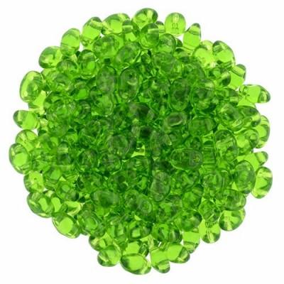 Superduo 2,5X5 mm Green 10 gr
