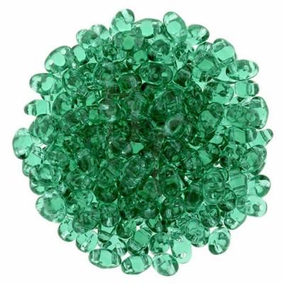 Superduo 2,5X5 mm Emerald 10 gr