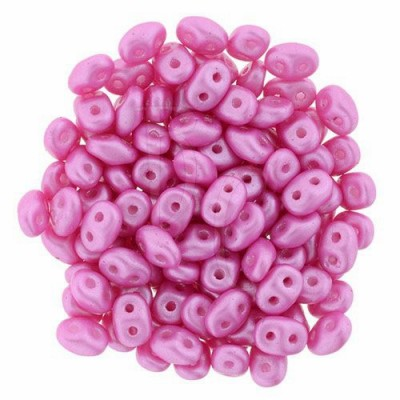 Superduo 2,5X5 mm Pearl Shine - Hot Pink 10 gr