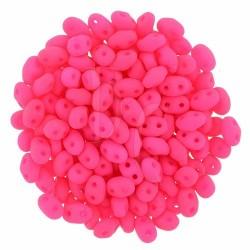 Superduo 2,5X5 mm Neon Pink 10 gr