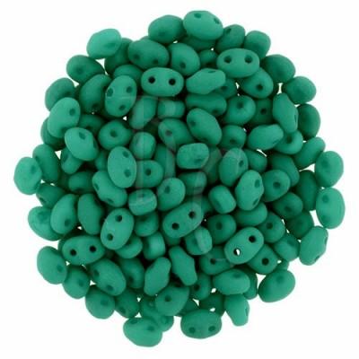 Superduo 2,5X5 mm Neon Emerald 10 gr