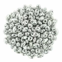 Superduo 2,5X5 mm Silver 10 gr