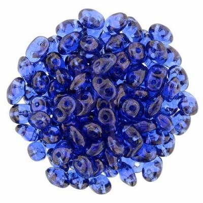 Superduo 2,5X5 mm Sapphire 10 gr