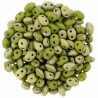 Superduo 2,5X5 mm Fool's Gold - Opaque Olive 10 gr