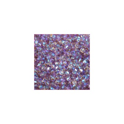 Bicono swarovski 5328 4MM Light Amethyst AB 2X