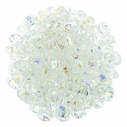 Superduo 2,5X5 mm Crystal AB 10 gr
