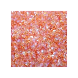Bicono swarovski 5328 4MM Light Peach AB 2X