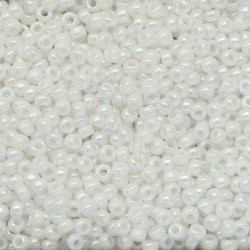 Rocaille 11/0 0471 White Pearl Ab 250 gr