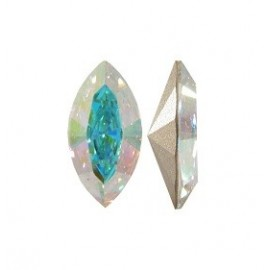4228 - Navette Fancy Stone 15x7 mm