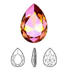 4327 - LARGE PEAR SHAPED FANCY STONE 30x20 MM