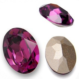 4120 - LARGE OVAL FANCY STONE 30x22 MM